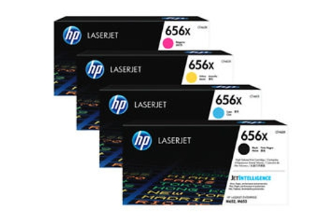 HP #656X LaserJet Enterprise M652 M653 High Yield Toner (Genuine)