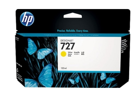 HP #727 B3P21A 130ml Yellow Ink (Genuine)