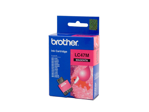 Brother LC47 Magenta Ink (Genuine) for DCP120C printer
