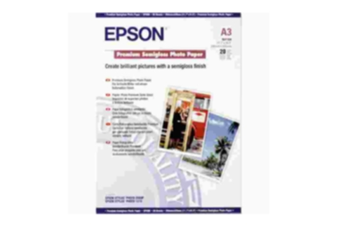 Epson A3 Semi Glossy Photo Paper 20 Sheets 251gsm  S041334