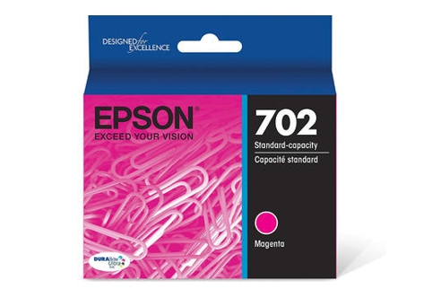 Epson 702 Magenta Ink Cartridge (Genuine)