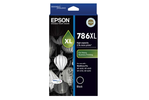 Epson 786XL Black Ink (Genuine)