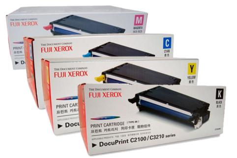Fuji Xerox DocuPrint C2100 C3210DX Toner Cartridge (Genuine)