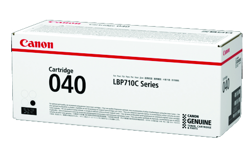 Canon CART040BK Black Toner Cartridge (Genuine)
