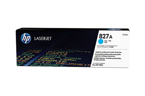 HP CF301A #827A Cyan Toner Cartridge (Genuine)