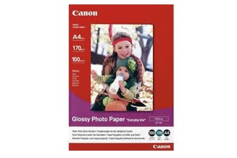 Canon A4 Glossy Photo Paper 100 Sheets GP701A4