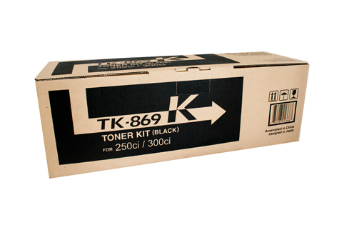 Kyocera TK869K Black Toner Cartridge (Genuine)
