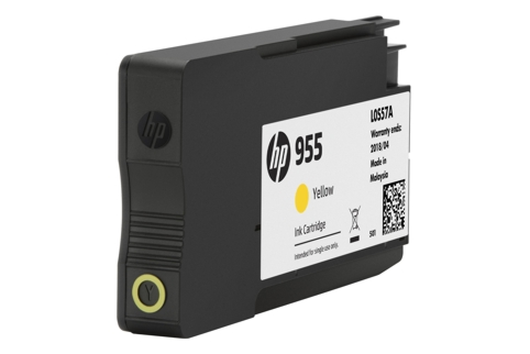 HP #955 L0S57AA Yellow Ink (Genuine)