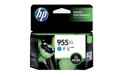 HP #955XL L0S63AA Cyan High Yield Ink (Genuine)