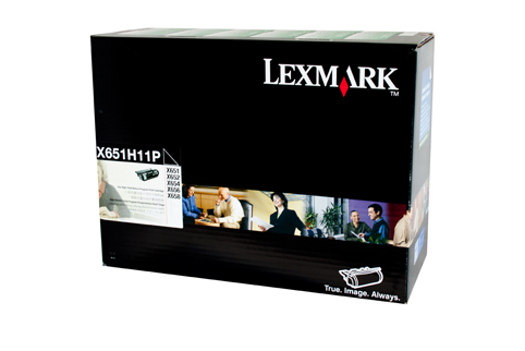 Lexmark X651H11P High Yield Prebate Toner Cartridge (Genuine)