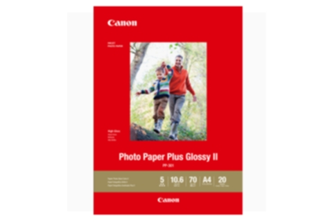 Canon A3 Photo Paper Plus Glossy II 20 Sheets PP301A3