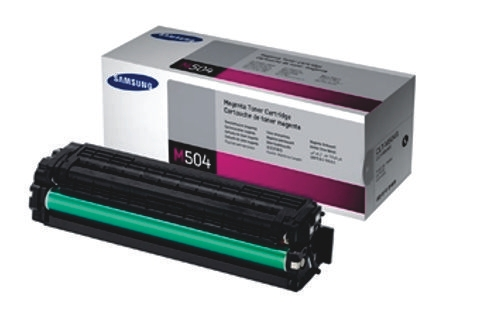 Samsung CLT-M504S Magenta Toner Cartridge (Genuine)