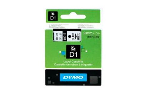 DYMO SD40913 Black on White 9MM X 7M Tape (Genuine)
