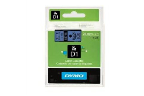 DYMO SD43610 Black on Transparent 6MM X 7M Tape (Genuine)