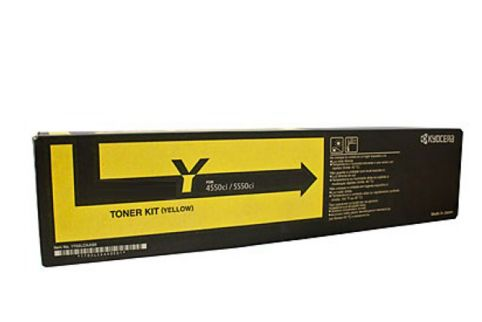 KYOCERA TK8329Y TASKALFA 2551CI Yelow Toner Cartridge (Genuine)