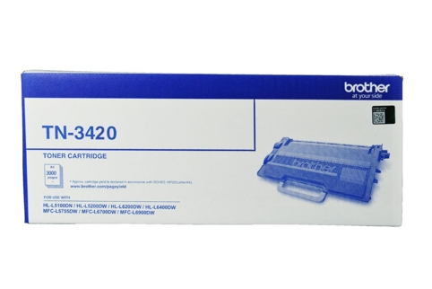 Brother TN3420 Toner Cartridge (Genuine)