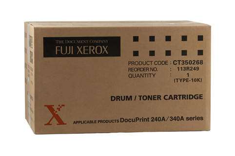 Fuji Xerox CT350268 Black Toner Cartridge (Genuine)