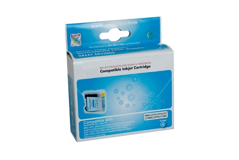 Brother LC38 Cyan Ink (Generic) for DCP165C printer