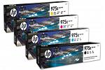 HP #975X PAGEWIDE PRO 477 552 557 High Yield Ink Cartridge (Genuine)