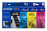 Brother LC57 DCP130C MFC240C MFC685CW Ink Pack (Genuine)