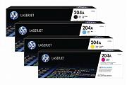HP #204A Color LaserJet Pro M154 MFP M180 M181 Toner (Genuine)