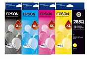 Epson 288XL XP240 XP340 XP344 XP440 High Yield Ink Pack (Genuine)