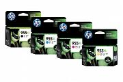 HP #955XL OfficeJet Pro 8720 8730 High Yield Value Pack Ink (Genuine)