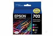 Epson 702 Ink Cartridge Value Pack (Genuine)