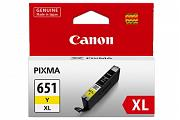 Canon CLI651 Yellow High Yield Ink (Genuine)