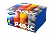 Samsung CLTP404C SLC430W SLC480FW Toner Value Pack (Genuine)