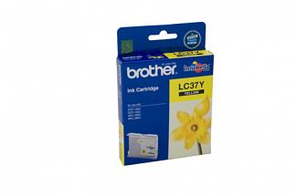 Brother LC37 Yellow Ink (Genuine) for DCP150C printer