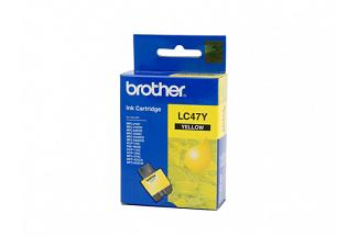 Brother LC47 Yellow Ink (Genuine) for DCP115 printer