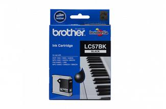 Brother LC57 Black Ink (Genuine) for DCP350C printer