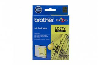 Brother LC57 Yellow Ink (Genuine) for DCP330C printer
