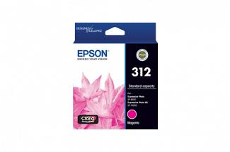 Epson 312 Magenta Ink Cartridge (Genuine)