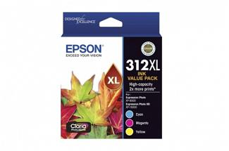 Epson 312 Tri Colour Ink Pack (Genuine)