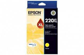 Epson 220 High Yield Yellow Ink (Genuine)