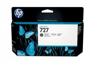 HP #727 C1Q12A 300ml Matte Black Ink (Genuine)