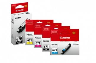 Canon PGI670 + CLI671 MG5760 Ink Pack (Genuine)