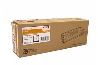 Oki C610 44315312 Black Toner Cartridge (Genuine)