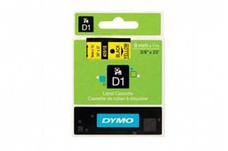 DYMO SD40918 Black on Yellow 9MM X 7M Tape (Genuine)